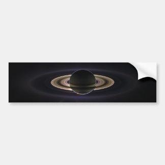 Saturn Eclipse Bumper Sticker