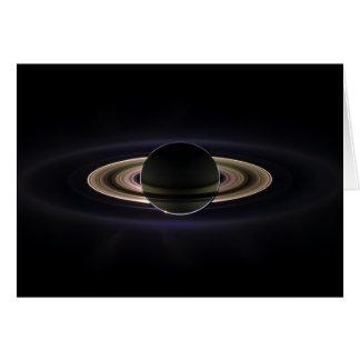 Saturn Eclipse Card