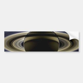 Saturn - el día la tierra sonrió etiqueta de parachoque