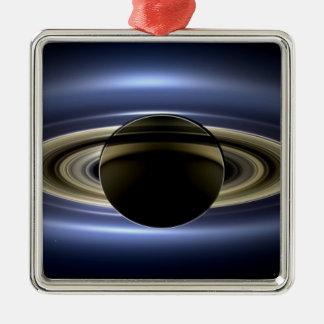 Saturn - el día la tierra sonrió adorno de navidad
