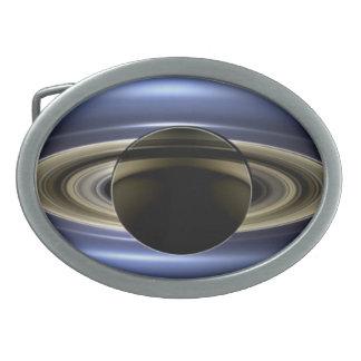 Saturn - el día la tierra sonrió hebilla cinturon oval