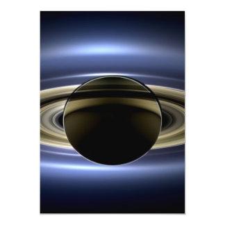 Saturn - el día la tierra sonrió invitacion personalizada