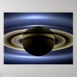 Saturn - el día la tierra sonrió póster