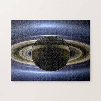 Saturn - el día la tierra sonrió puzzle con fotos