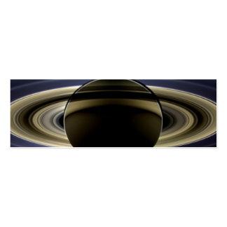 Saturn - el día la tierra sonrió tarjetas de visita mini
