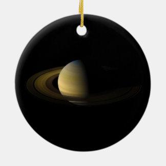 Saturn el sexto planeta del Sun Ornamentos Para Reyes Magos