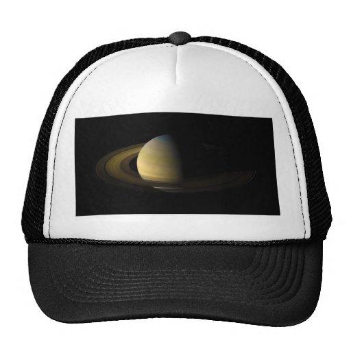 Saturn el sexto planeta del Sun Gorras De Camionero