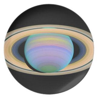 Saturn elegant dinner plates