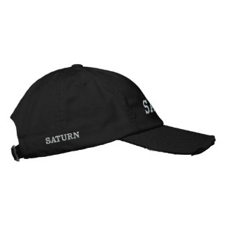 SATURN EMBROIDERED BASEBALL HAT