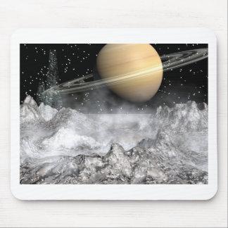 Saturn & Enceladus Mouse Pad
