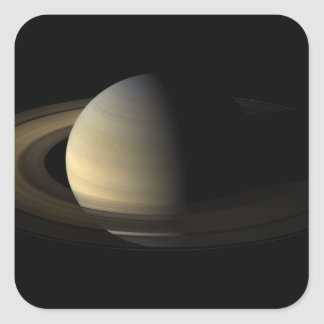 Saturn Equinox Square Sticker