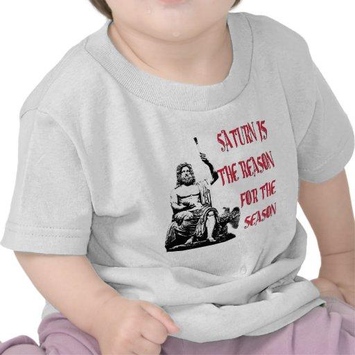 Saturn es la razón de la estación camiseta