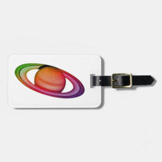 Saturn Etiquetas Para Maletas