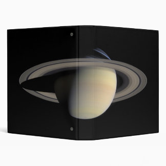 Saturn from Cassini Orbiter (2004-10-06) Binder