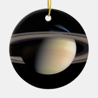Saturn from Cassini To orbit Ceramic Ornament