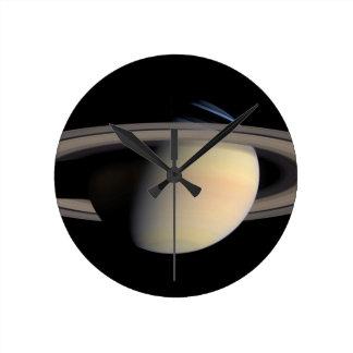 Saturn from Cassini To orbit Round Clock