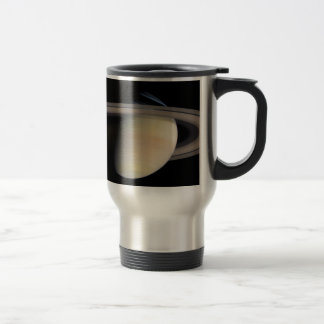 Saturn from Cassini To orbit Travel Mug