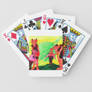 Saturn Giants Bicycle Playing Cards