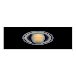 Saturn Hubble Telescope Business Card Template
