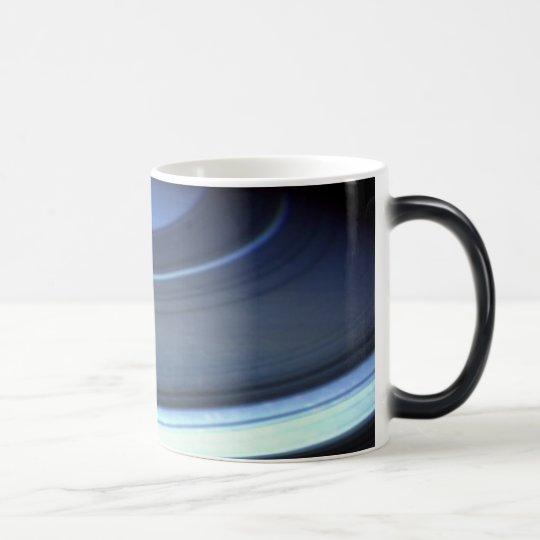 Saturn in blue / Cassini Magic Mug
