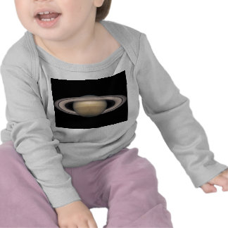 Saturn Infant Long Sleeve T-shirt Astronomy Gift