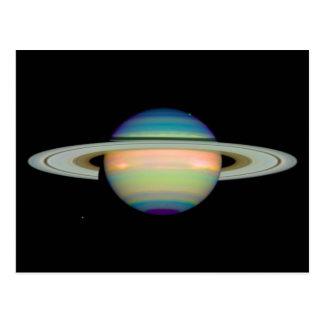 Saturn Infrared Image Postcards