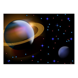 Saturn Large Business Card