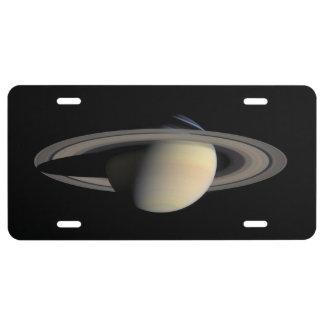Saturn License Plate