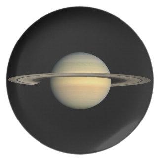 Saturn Melamine Plate