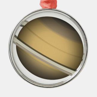 Saturn Metal Ornament