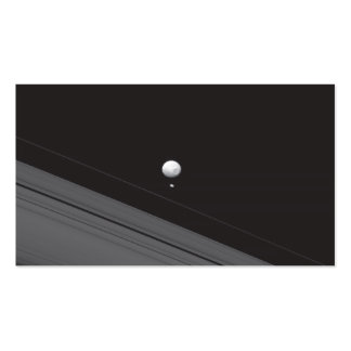 Saturn Moons Business Card Templates