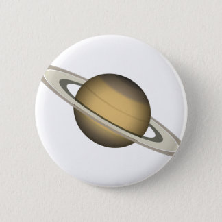 Saturn Pinback Button
