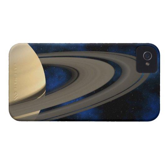Saturn planet 2 iPhone 4 Case-Mate case