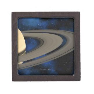Saturn planet 2 keepsake box