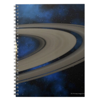 Saturn planet 2 spiral note books