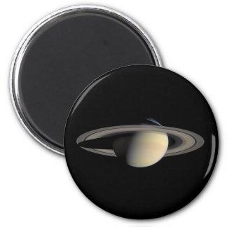 Saturn Planet beautiful rings NASA Magnet