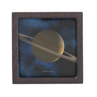 Saturn planet gift box