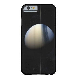 Saturn planet in solar system, close-up 2 barely there iPhone 6 case
