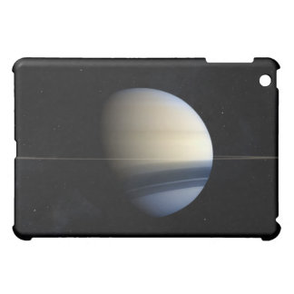Saturn planet in solar system, close-up 2 iPad mini covers