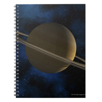 Saturn planet note book