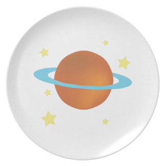 Saturn Party Plates