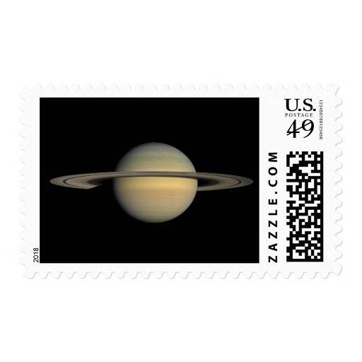 Saturn Postage Stamp