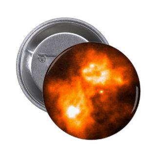 Saturn Prior to Cassini Probe s Arrival Pinback Button