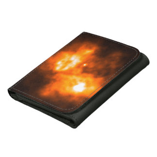 Saturn Prior to Cassini Probe s Arrival Leather Tri-fold Wallet