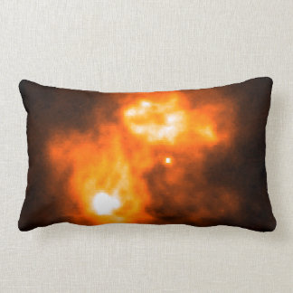 Saturn Prior to Cassini Probe's Arrival Throw Pillow