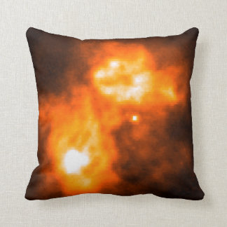 Saturn Prior to Cassini Probe's Arrival Throw Pillows