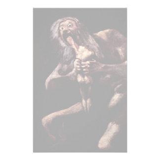 Saturn que devora a su hijo del Pinturas Negras Papeleria Personalizada