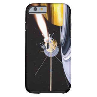 Saturn que está en órbita por satélite funda para iPhone 6 tough