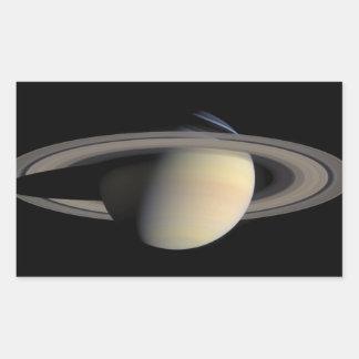 Saturn Rectangular Sticker
