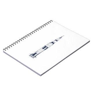 Saturn Rocket Note Books